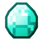 Minecraft vector diamond