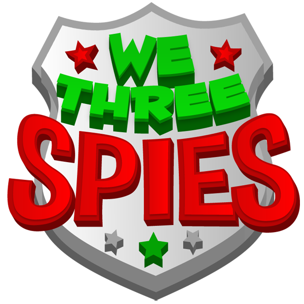 We Three Spies Logo Main