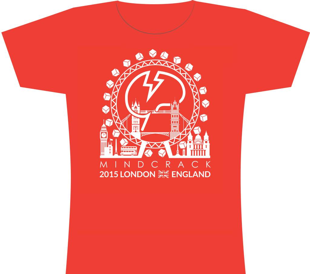 Mindcrack Minecon 2015 London T-shirt